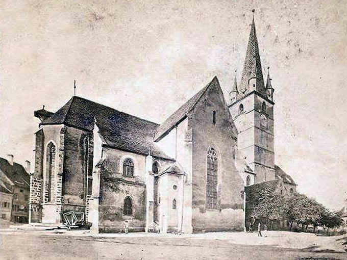 Biserica Evanghelică C.A.: Repere cronologice