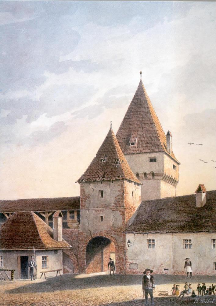 Poarta Elisabeta, 1858, J. Böbel