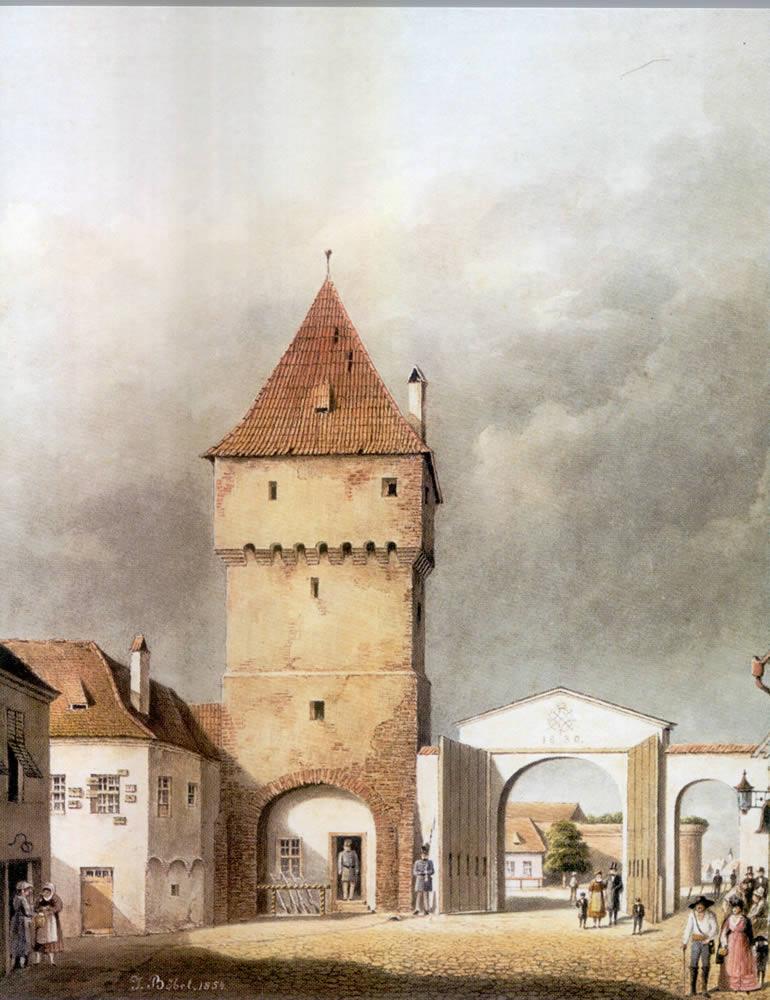 Poarta Turnului, 1854, J. Böbel