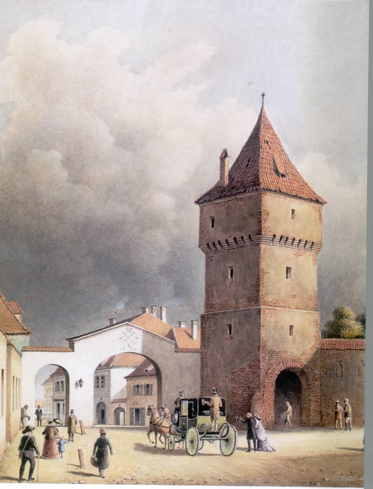 Poarta Turnului, 1858, J. Böbel