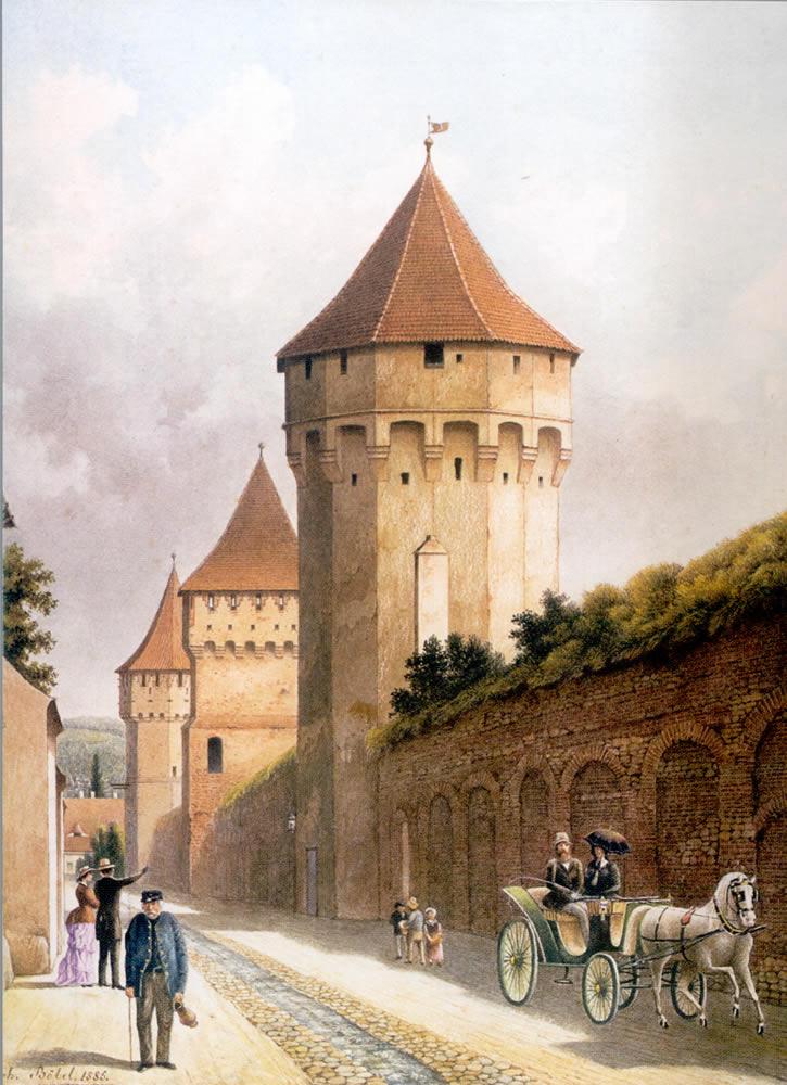 Str. Cetatii, 1885, J. Böbel