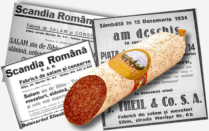 Scandia - Salamul de Sibiu