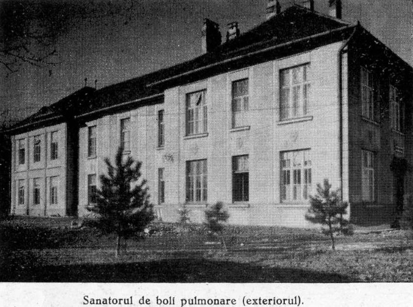 Sanatoriu de boli pulmonare