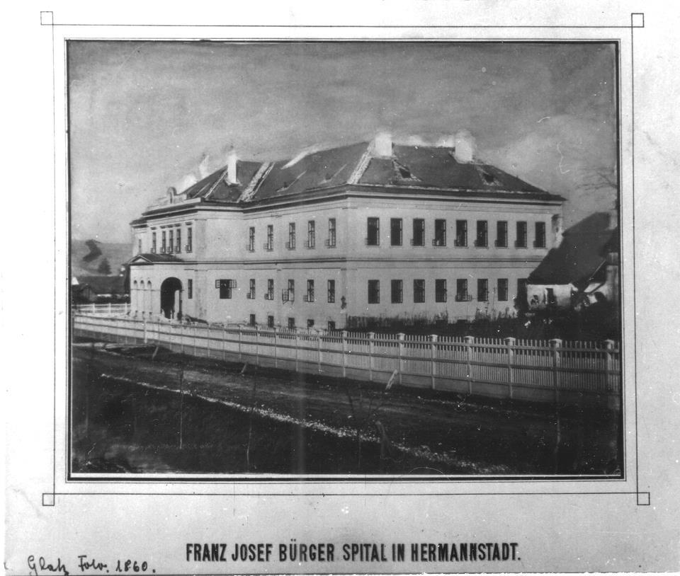 Spitalul Fran Josef, 1860