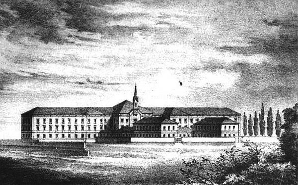 Spitalul de boli nervoase, 1863