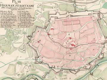 Harta 1735